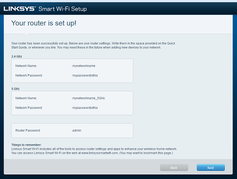 Setting up the Linksys Smart Wi-Fi Router using the Smart Setup